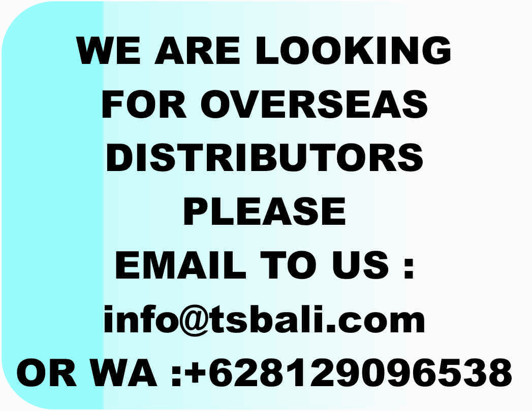 WE ARE LOOKING FOR OVERSEAS DISTRIBUTORS